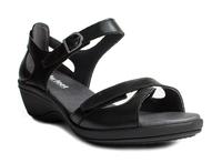 N10106-P-BLA, sandalett, svart, New Feet