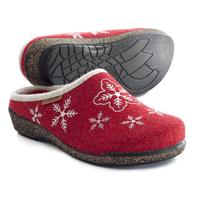 Lena, röd med snöflinga, Cinnamon