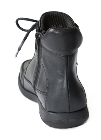 N7221-P-BLA, snörstövlett, svart, New Feet