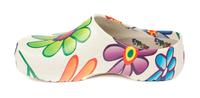 Super Birki, Flower/vit, Birkenstock