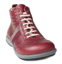 N9210-O-BOR, snörstövlett, röd, New Feet