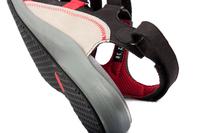 N9112-N-BLA, sandal med kardborre, svart, New Feet