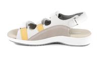 N9112-N-WHI sandal med kardborre, vit, New Feet
