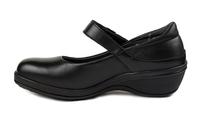 N10102-P-BLA, sandal, svart, New Feet
