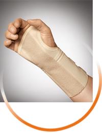 Wrist support with aluminum splint, SPORLASTIC
